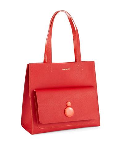 JONATHAN ADLERSaffiano Leather Shopper Bag