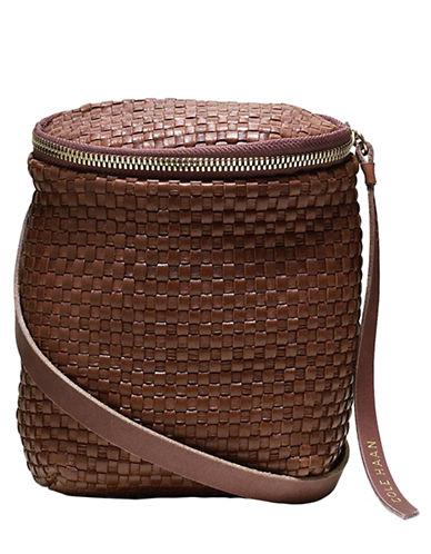 COLE HAANWoven Leather Crossbody Bag