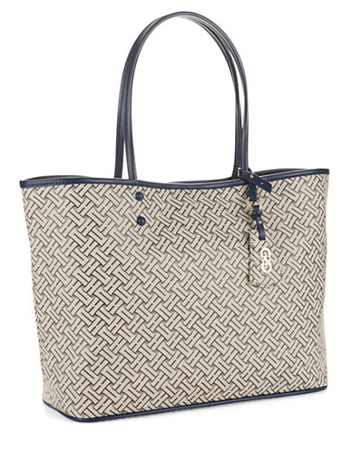 COLE HAAN Signature Weave Large Tote