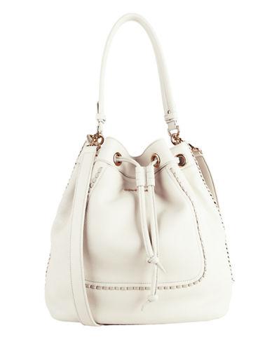 Cole Haan Nickson Leather Drawstring Bag
