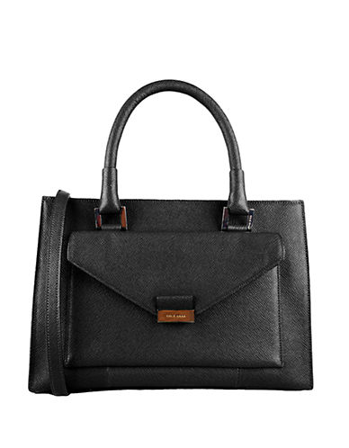 COLE HAAN Amalia Leather Satchel