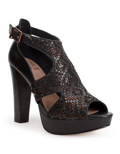 ELLIOTT LUCCABernadette Leather Platform Heels