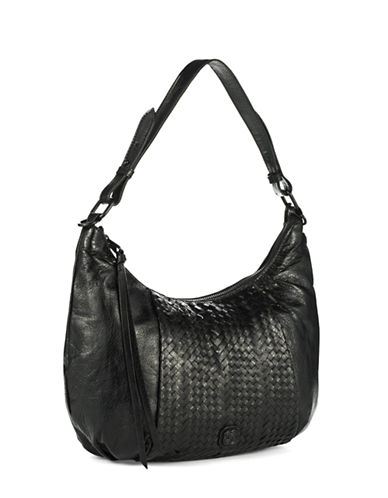 ELLIOTT LUCCAIntreccio Leather Demi Hobo Bag