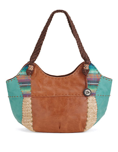 The Sak Woven Handle Satchel