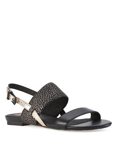 ELLIOTT LUCCAMia Leather Sandals