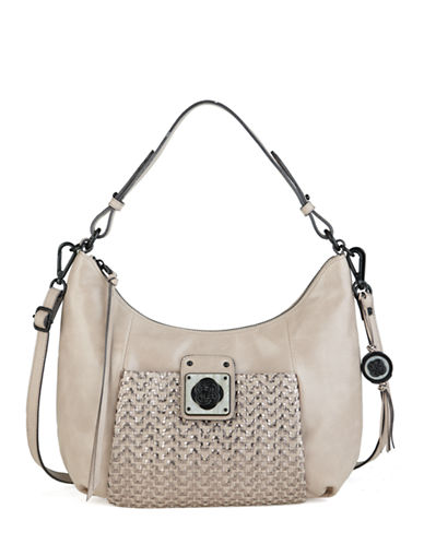 ELLIOTT LUCCA Bali 89 Leather Turnlock Hobo Bag