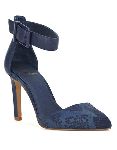 ELLIOTT LUCCAChiara Leather Ankle-Strap Pumps
