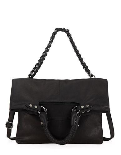ELLIOTT LUCCAIara Leather Foldover Crossbody Tote Bag