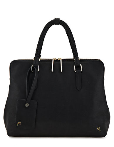 Elliott Lucca Genevieve Leather Portfolio Tote Bag