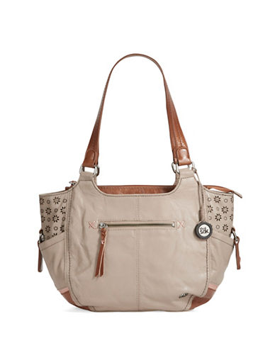 THE SAK Kendra Leather Satchel