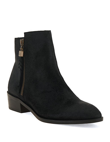 ELLIOTT LUCCA Rosaria Leather Ankle Boots