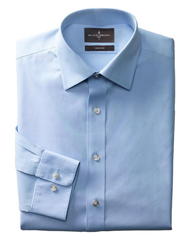 BLACK BROWN 1826Regular Fit Non-Iron Dress Shirt