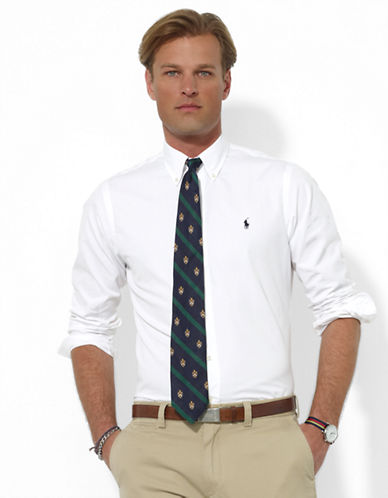 POLO RALPH LAUREN Custom-Fit Broadcloth Blake Sport Shirt