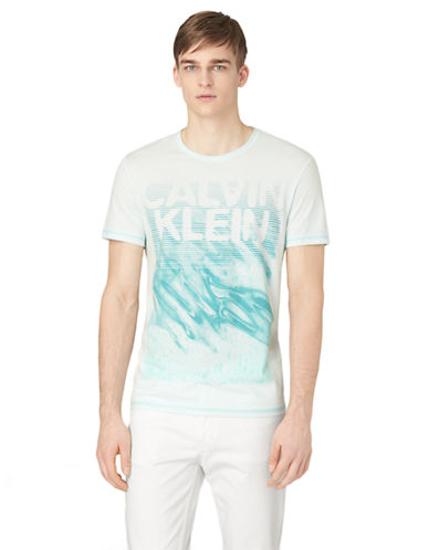 CALVIN KLEIN JEANS Abstract Logo Graphic T-Shirt