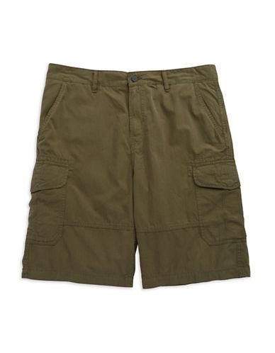 CALVIN KLEIN JEANSWindowpane Check Cargo Shorts