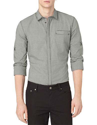 CALVIN KLEIN JEANSSmall Check Woven Sport Shirt