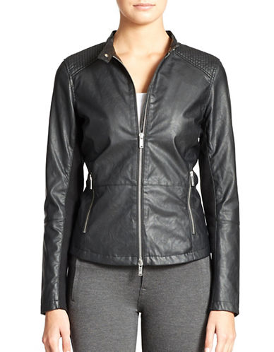 CALVIN KLEIN JEANS Quilted Moto Jacket