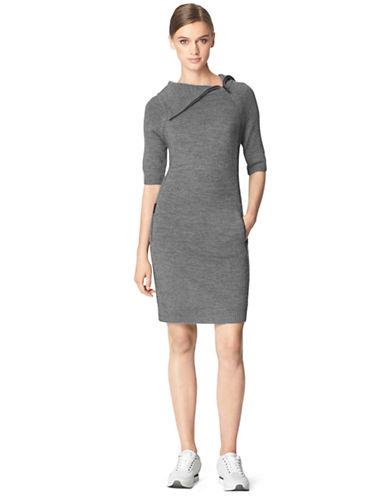 Shop Calvin Klein Jeans online and buy Calvin Klein Jeans Wool Blend Zip Sweater Dress dress online
