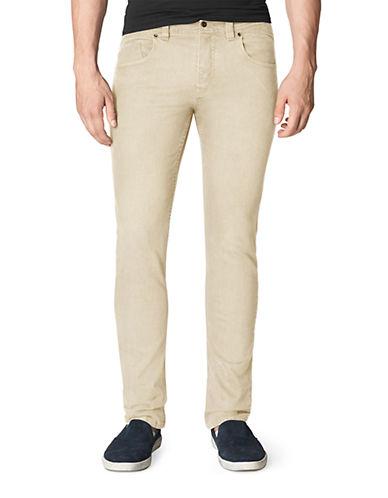 CALVIN KLEIN JEANSTwill Slub Slim Straight Leg Pants