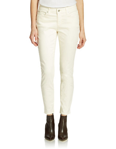 EILEEN FISHER Organic Cotton Slim Ankle Jeans