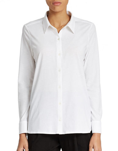 EILEEN FISHEROrganic Cotton Shirt