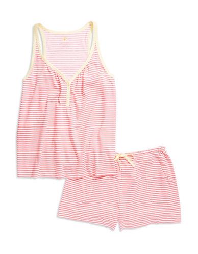 Carole Hochman Two Piece Stripe Pajama Set