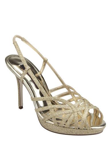 NINAFonda Glitter High-Heel Sandals