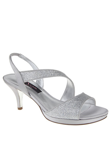 NINANewark Glitter Open-Toe Sandals