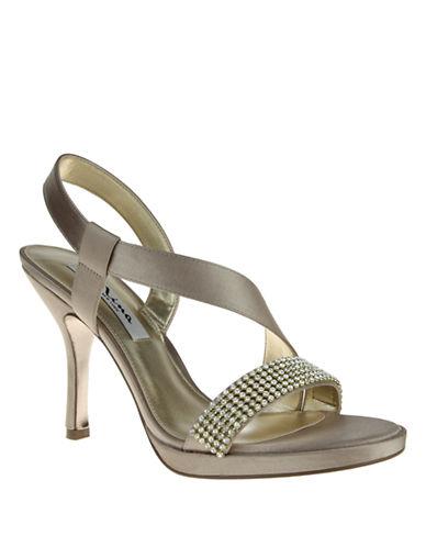 NINAGloria Satin and Jewel Heels