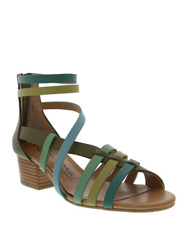 NINAVictor Synthetic Leather Sandals
