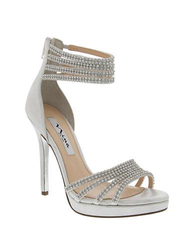 NINAFergie High-Heel Platform Sandals