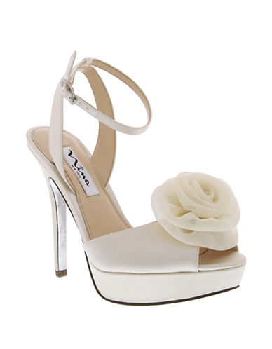 NINAMakara High-Heel Platform Dress Sandals