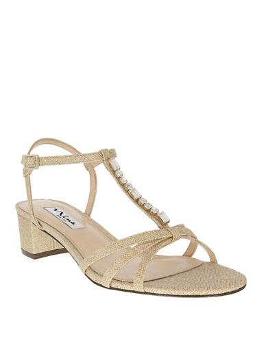 NINAGaelle Embellished Sandals