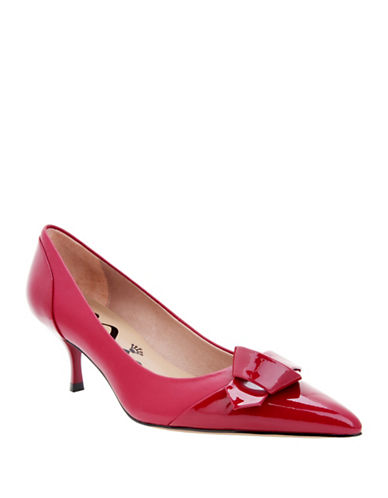 Buy Prezley Pointed Cap-Toe Leather by Nina online