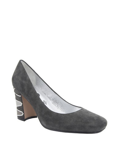 Buy Starry Suede Pumps by Nina online