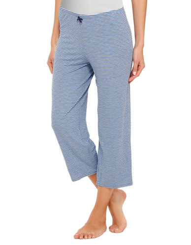 ELLEN TRACY Chic In Chambray Cropped Pants