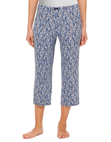 ELLEN TRACYChic In Chambray Cropped Pants