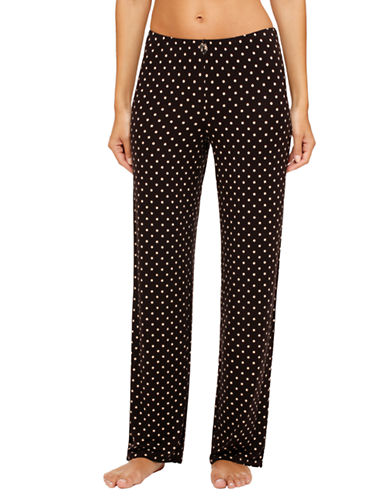 ELLEN TRACY Polka Dot Lounge Pants