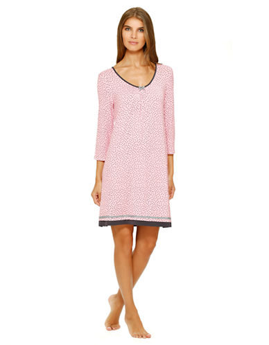 ELLEN TRACYFloral Nightgown