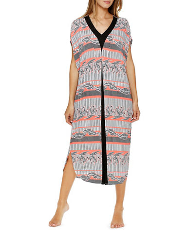 Plus Sweet on Soho Long Caftan plus size,  plus size fashion plus size appare