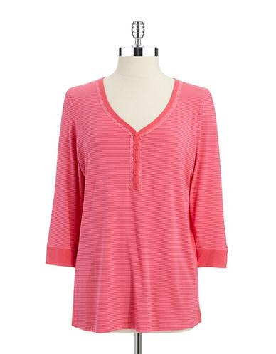 DKNYHenley Sleep Shirt