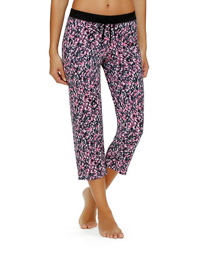 Urban Essentials Printed Capri Pants plus size,  plus size fashion plus size appare
