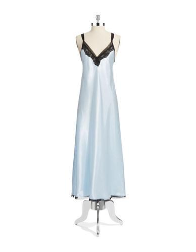 OSCAR DE LA RENTALace Accented Nightgown