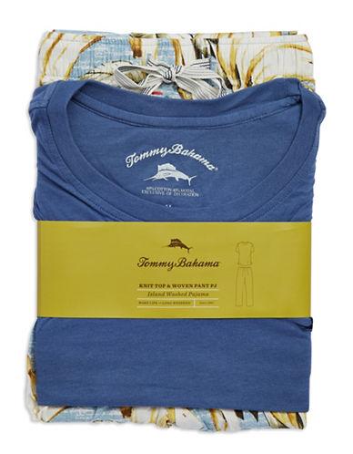 TOMMY BAHAMATwo Piece Tropical Pajama Set