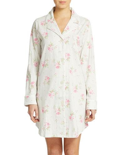 LAUREN RALPH LAURENButton Down Sleep Shirt