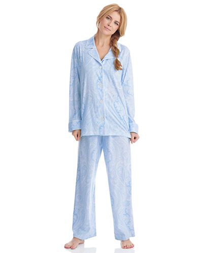 LAUREN RALPH LAURENPaisley Print Pajama Set