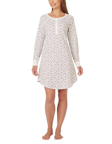 CAROLE HOCHMANDouble Knit Sleep Shirt
