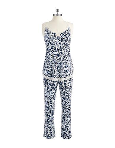OSCAR DE LA RENTAFloral Pajamas