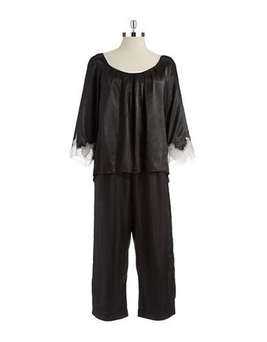 OSCAR DE LA RENTASatin Pajama Set