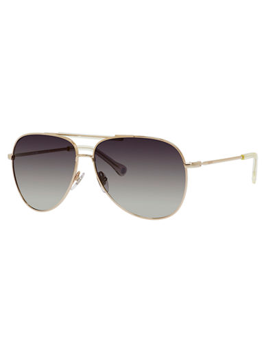 JACK SPADE Hopkins Metal Aviator Sunglasses